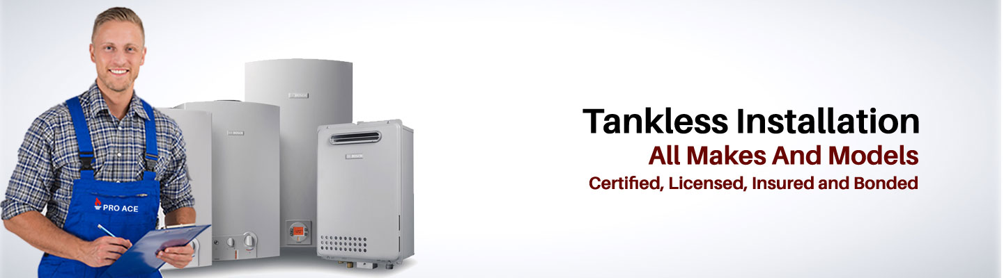 Tankless Hot Water Installation